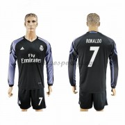 maillot de foot La Liga Real Madrid 2016-17 Ronaldo 7 maillot third manche longue